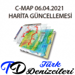 JEPPESEN C-MAP Professional+ / C-MAP / CM93 v3 / WF1013 (Nisan, 2021)